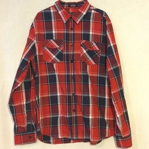 Eighty Eight Long Sleeve Plaid Button up Shirt